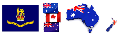 Australia Canada NZ West Indies