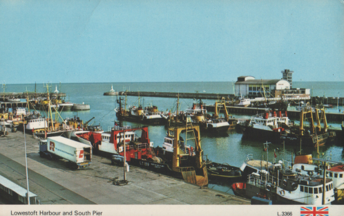 lowestoft fishing harbour