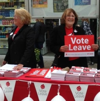 Waveney Vote Leave christine and sheila jpg